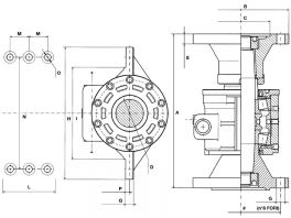 "Thrust bearing ""beam type"""